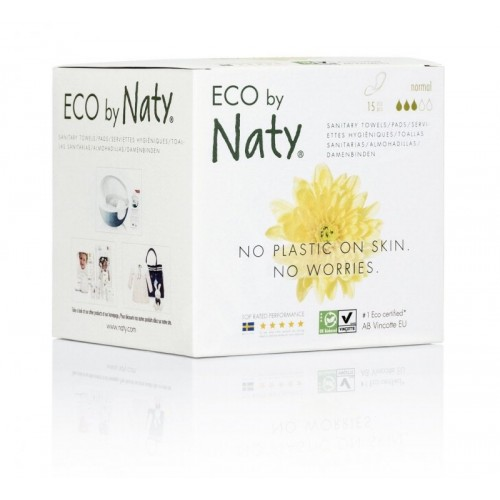ECO VLOŽKY - NORMAL (15 ks) Naty