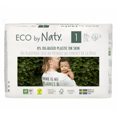 EKOPLENKY PRO NOVOROZENCE 1 - NEWBORN 2-5 kg (25 ks) Naty