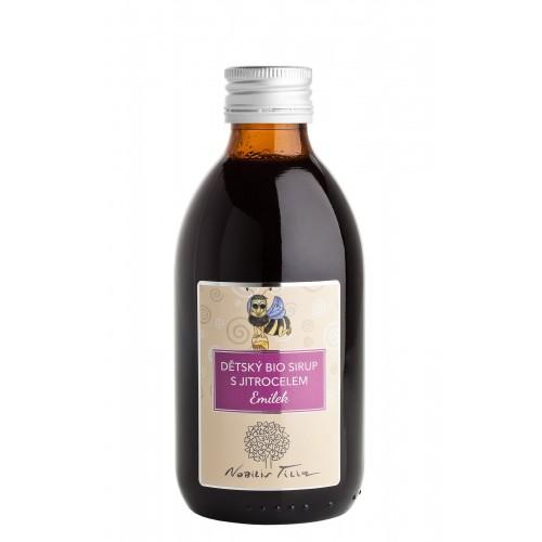 DĚTSKÝ BIO SIRUP S JITROCELEM - EMÍLEK (250 ml) Nobilis